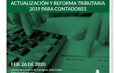 Actualización y Reforma Tributaria 2019 para contadores